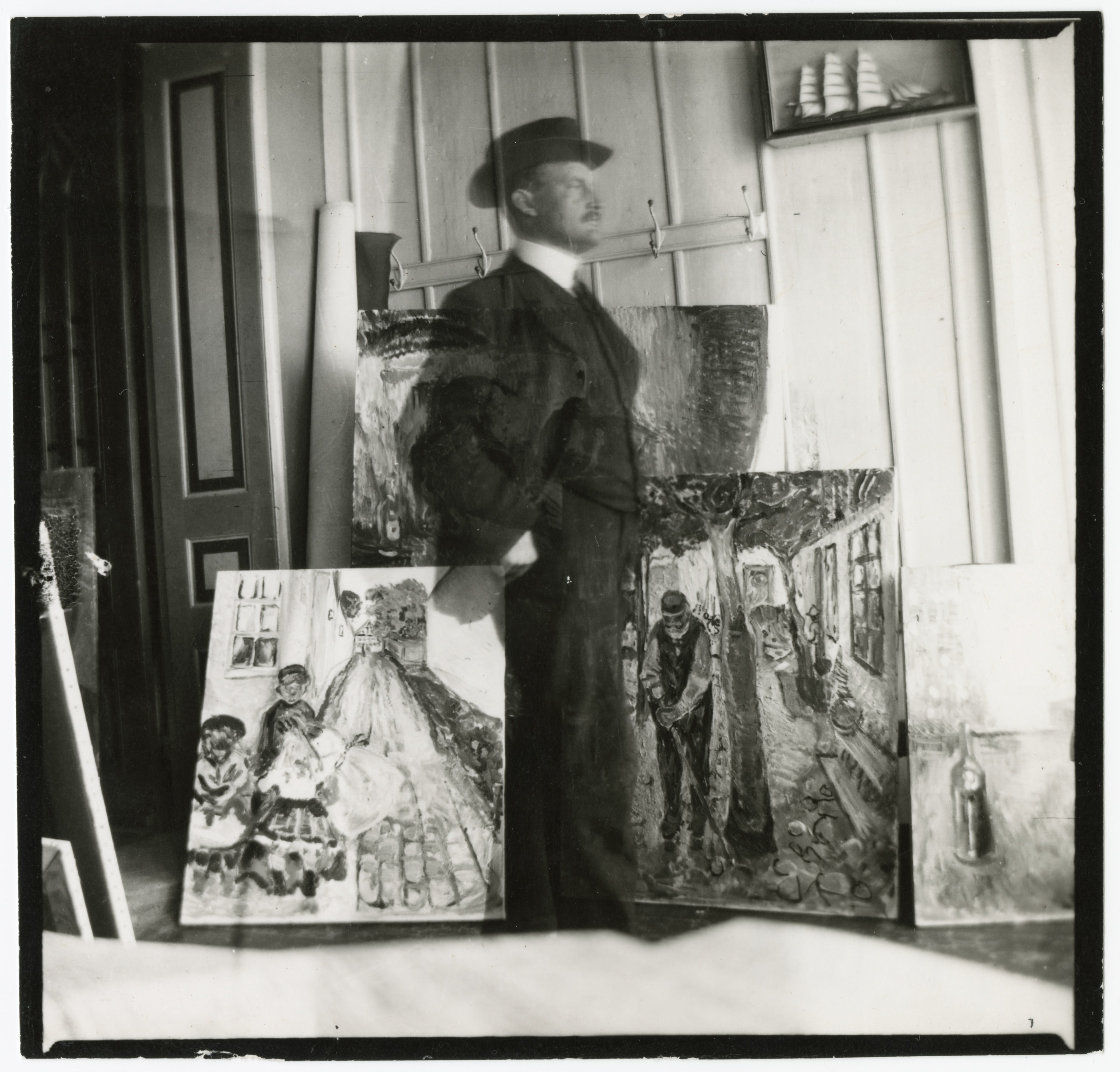 Edvard_Munch_-_Self-Portrait_at_53_Am_Strom_in_Warnemünde_-_Google_Art_Project