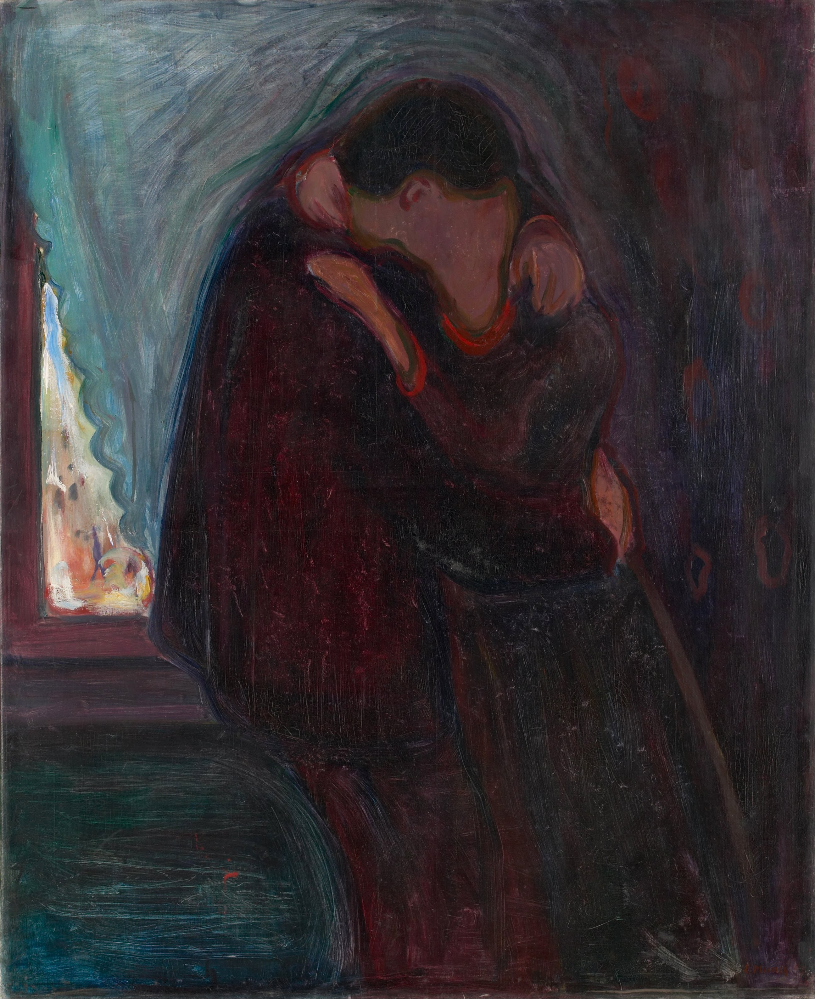 Edvard_Munch_-_The_Kiss_-_Google_Art_Project